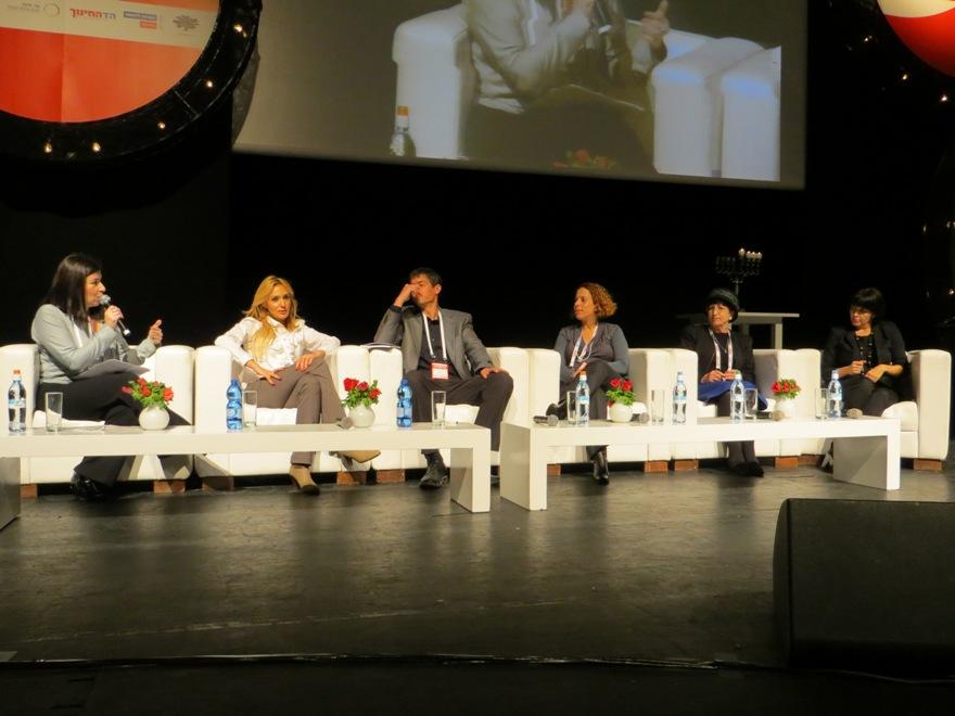 """מנכ""""ל קבוצת עמל עו""""ד רוית דום בדיון על נושא היזמות בועידת כלכליסט"""